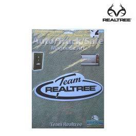Realtree Team Logo-Emblem, 2er-Pack, für Jagd- und Schießausrüstung, Chrom, 2 Stück