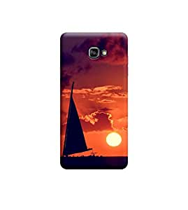Ebby Premium 3d Desinger Printed Back Case Cover For Samsung A5 2016 A510 (Premium Desinger Case)