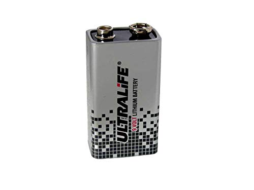 9V Lithium Batterie Kompatibel Prüfgerät Ableitstrommessung SECULIFE UL M695X 9v Batterie-backup