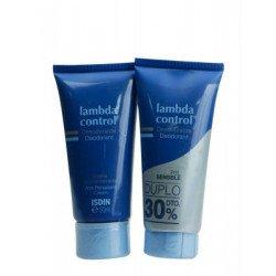 Lambda Control Desodorante Crema DUPLO 2X50ML