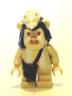 LEGO Star Wars - Minifigur Ewok Logray (sw338) (Ewok Lego Minifiguren)