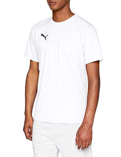 PUMA Herren Liga Training Jersey, White Black, L -
