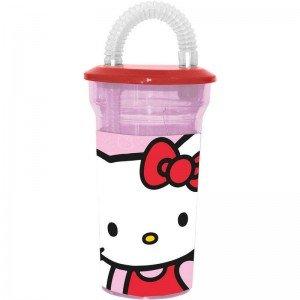 Hello Kitty: Verre paille Hello Kitty (Hello Flaschen Kitty)