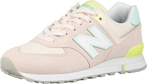 New Balance 574 NSC Sneaker Donna Rosa Verde, 37, Rosa