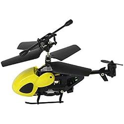 Helicóptero de juguete para niños, Super Mini RC Helicóptero, control remoto de aviones, Nano Drone Qingsong QS5012 2CH regalo de los niños regalo presente