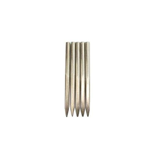 73JohnPol Flache Kopf Edelstahl Nadel Paracord FID Werkzeug Schnürung Stitching Nadeln für Paracord Armband Leder Weaving Tool -