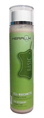 KERALUX Fell Waschmittel, besonders geeignet als Baby Lammfell Waschmittel. Derma Test sehr gut!