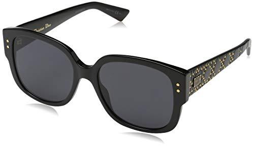 Dior Damen LADYDIORSTUDS 2K 807 Sonnenbrille, Schwarz (Black Grey), 54