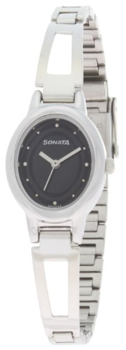 Sonata Everyday Analog Black Dial Women's Watch