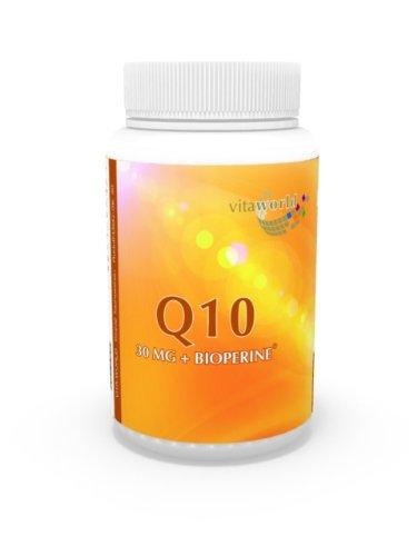 Vita World Coenzima Q10 30mg + Bioperine 120 Capsule Antiossidante