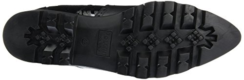 Pollini Damen Shoes Flache Hausschuhe Schwarz (Black 00A)