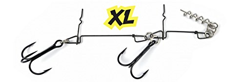 DARTS Pike Rig Shallow Montage XL Hecht System Big Baits Screw 14 cm