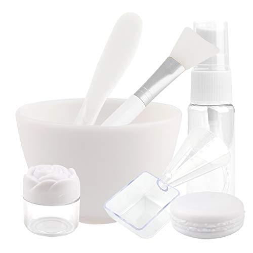 Maske Schüssel Gesichtsmaske Mixing Bowl Set, Silikon Mask -