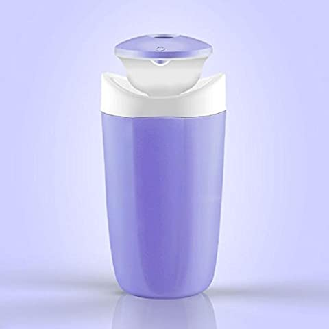 New day-Mini Cup Generale USB Home Office Desktop umidificatore creativo 55 * 140MM , purple , 55*140mm - Tropical Luce Di Notte