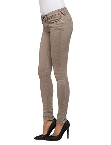 ... Replay Damen Skinny Jeans Luz Coin Zip Braun (Nut 60) ...