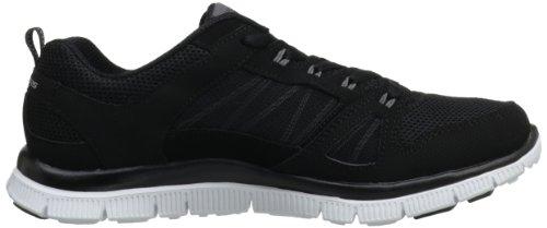 Skechers Flex Appealspring Fever, Sneakers Basses Femme Noir (Bkw)