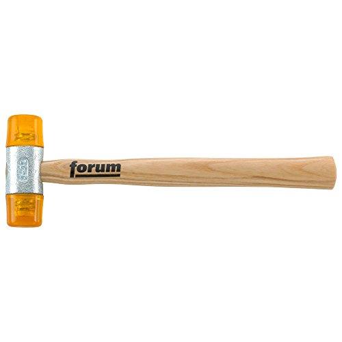 Forum Kunststoffhammer  22 mm, Größe 1, gelb, 4317784852456
