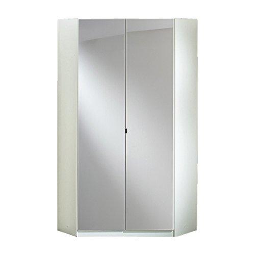 eckschrank mit spiegel Wimex Kleiderschrank/ Eckschrank Clack, (B/H/T) 95 x 198 x 95 cm, Weiß