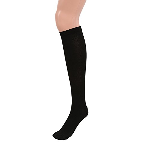 Wingogo Compression Socks Anti Fatigue Knee High Stockings Compression Support Socks Best For Running, Athletic Sports, Crossfit, Flight Travel (Men & Women)