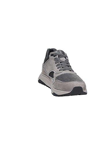 Basket, couleur Gris , marque LUMBERJACK, modèle Basket LUMBERJACK DETROIT Gris Tourterelle