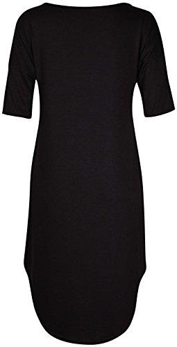 Purple Hanger Damen Kleid Schwarz