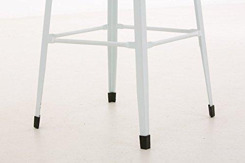 Clp sgabello bar marten in metallo sgabello design impilabilee
