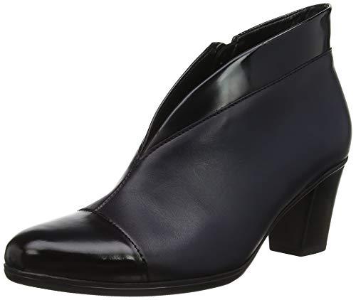 Gabor Shoes Damen Basic Stiefeletten, Blau (River (Effekt) 96), 39 EU