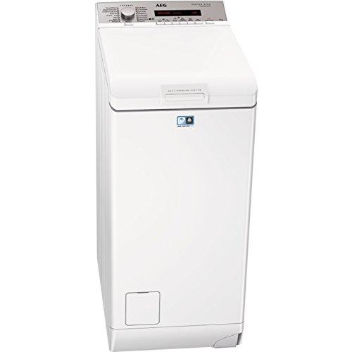 AEG L78275TL Waschmaschine Toplader/A+++ (157 kWh/Jahr)/sparsamer Waschautomat mit Mengenautomatik und Dampfprogramm/Waschmaschine mit 7 kg ProTex-Trommel/leiser und robuster Inverter-Motor/weiß