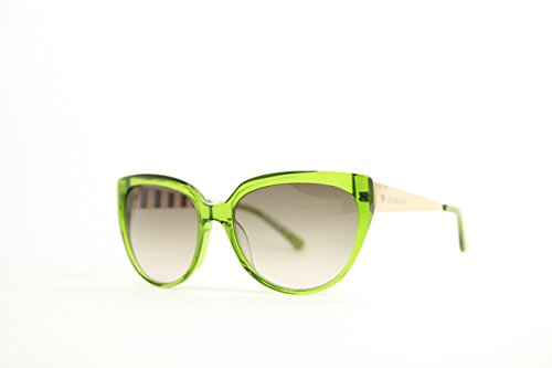 Love Moschino Damen ML526S Cateye Sonnenbrille, Gr. One Size, Green