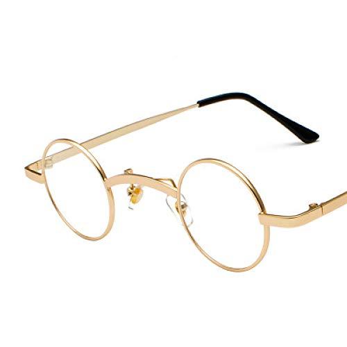 Spfree Runde polarisierte Steampunk-Sonnenbrille Vintage-Sonnenbrille für Männer und Frauen