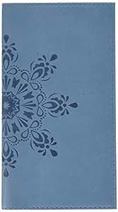 Exacompta 177683e Spazio 17S Cordoba settimanale tascabile spiralé con répertoire 9x 17cm gennaio a Dicembre 2019Blu Pallido