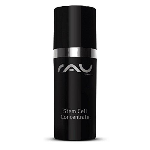 RAU Stem Cell Concentrate 15 ml - Concentré de luxe aux cellules souches de panicaut maritime - Sérum visage hydratant à effet anti-âge, anti-rides, raffermissant. Votre peau sera éclatante de santé, votre teint ravivé. NOUVEAU!