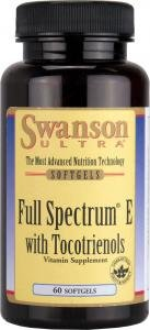 Swanson Ultra Full Spectrum Vitamin E with Tocotrienol (60 Softgels) from Swanson Health Products