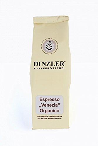 Espresso Venezia - 100% Arabica - ganze Bohne - 250 g - Bio