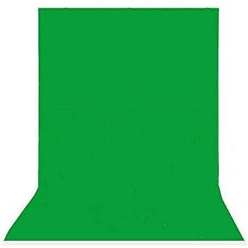 PHOTO MASTER PRO Professional Studio Background Stand Kit Non woven Backdrop Screen 1.6m x 3m Black White Chroma Key Green Background Stand Support Kit black Backdrop Stand Kit with Carry Bag
