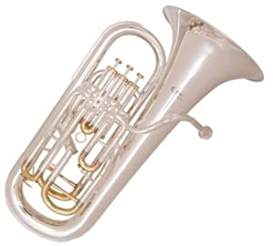 Odyssey OEP1500 Compensated Euphonium in Silver Plate