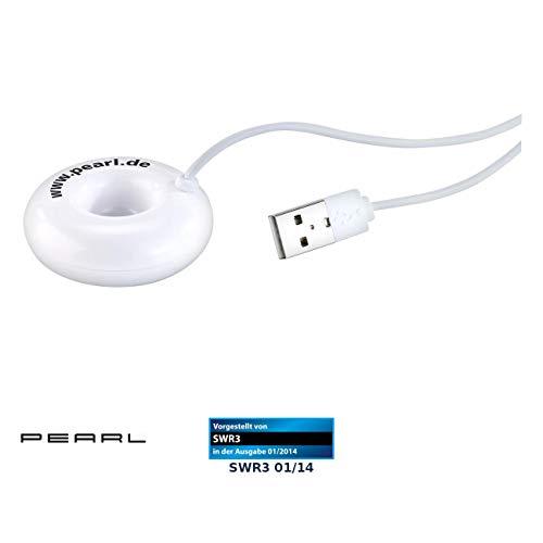PEARL Mini Nebler: USB-Mini-Luftbefeuchter & Aroma Diffuser mit Ultraschall-Vernebler (Luftbefeuchter batteriebetrieben)