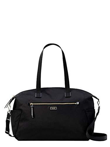 Kate Spade New York Weekender Travel Bag Dawn Black Nylon LARGE DUFFLE Kate Spade 10 Zoll