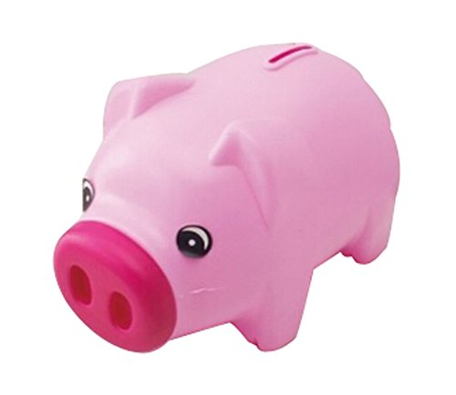 Plastic Piggy Bank Cartoon Uique Bby Gfts Erwachsene / Kinder Schwein Rosa