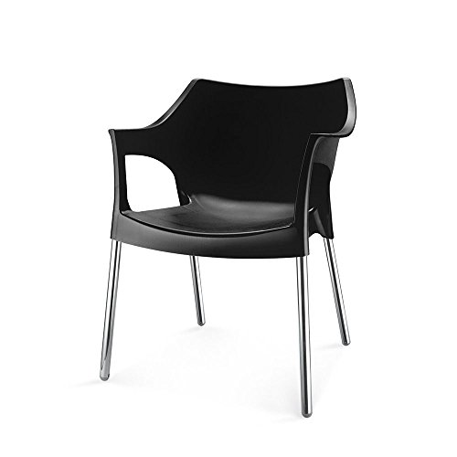 Nilkamal Novella Series 10 Chair (Black)