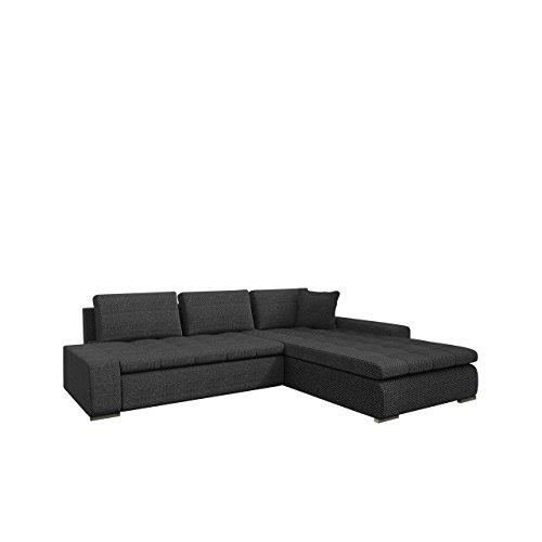 Mirjan24  Eckcouch Ecksofa – Orkan! Elegante Sofa mit Schlaffunktion und Bettfunktion, Bettkasten Couch L-Sofa Große Farbauswahl, Qualität