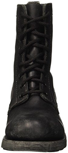 Bikkembergs Vintage 415 Mid Shoe W Leather, Baskets Hautes Femme Noir - noir