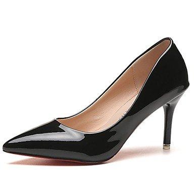Estivo Comfort UK4 Donna RTRY Pantofole EU36 Flip Pu Flops Bianca Amp; Chunky US6 Casual Camminata Heelblack CN36 SxYXZXdwqW