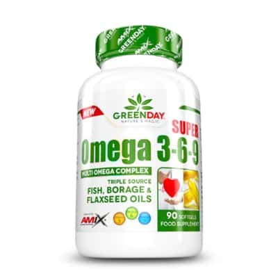 GreenDay® Super Omega 3-6-9-90 caps