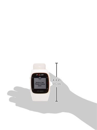 Polar M400 GPS Watch with Heart Rate Monitor – White