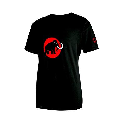 Mammut Herren T-Shirt Logo, Schwarz (Black), M