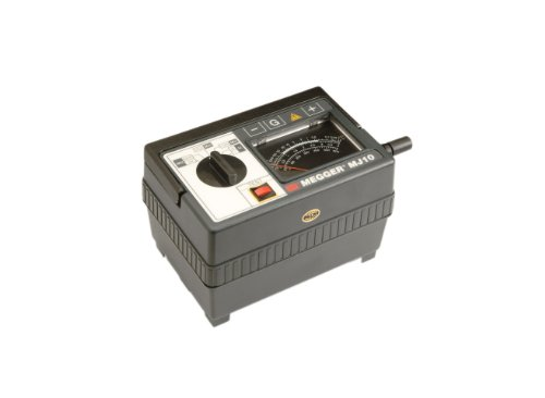 Megger 212359 Analog Insulation Tester, Hand-Crank and Line Powered, 2,000 Megaohms Resistance, 100, 250, 500, 1000 V Test Voltage by Megger Line Voltage Tester