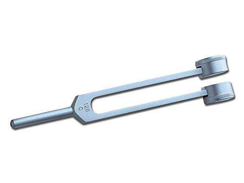 GiMa 31225Stimmgabel Aluminium 128HZ-Set, 1Stück