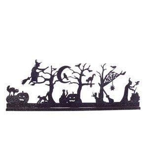 elichthalter Schattentheater (Halloween-dekoration Hexe Silhouette)
