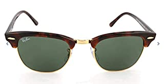 Ray-Ban - Lunette de soleil Clubmaster Metallic RB 3016 Wayfarer, Brown (Braun RB 3016 W0366) (B00346VLGE) | Amazon Products